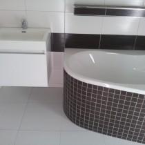 Žitná 2601, Pardubice, rekonstrukce koupelny 2