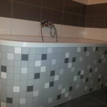 Na Hrádku 2575, Pardubice, rekonstrukce koupelny 1