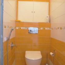 Rekonstrukce koupelny Hradec Králové, Brožíkova 6