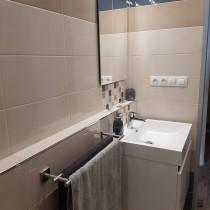 Rekonstrukce koupelny, Pardubice, Lonkova 2