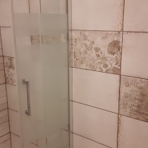 Rekonstrukce koupelny Pardubice, Palackého 3