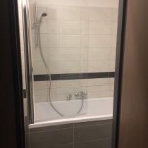 Rekonstrukce koupelny, Studentská, Přelouč 2