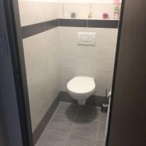 Rekonstrukce koupelny, Studentská, Přelouč 5