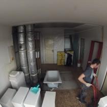 Příprava veškerého potřebného stavebního materiálu