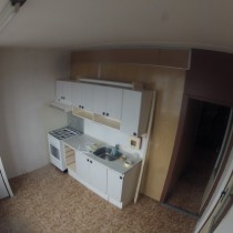 Původní panelákové jádro - kuchyně
